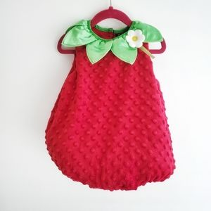Other - Toddler Strawberry Costume Size 18 M